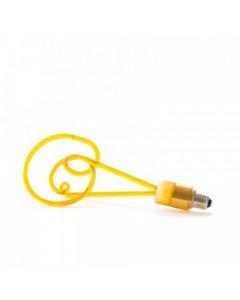 Seletti Ledlamp Twist Amber